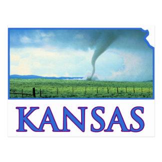 Carte Postale Tornade du Kansas