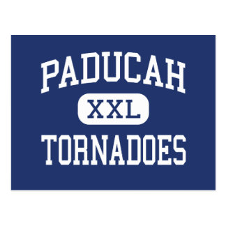 Carte Postale Tornades Paducah moyen Kentucky de Paducah