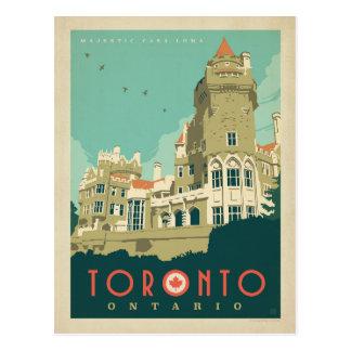 Carte Postale Toronto, Ontario - maison majestueuse Loma