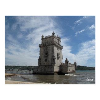 Carte postale-Torre De Belem de Lisbonne