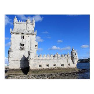 Carte Postale Torre De Belem, Lisbonne, Portugal