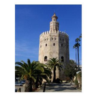 Carte Postale Torre Del Oro
