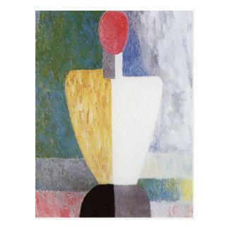 Carte Postale Torse de Kazimir Malevich-