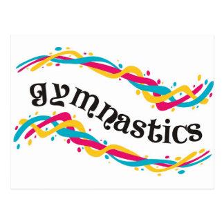Carte Postale Torsions de gymnastique
