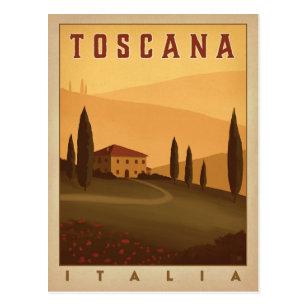 Cartes postales Toscane originales   Zazzle.fr