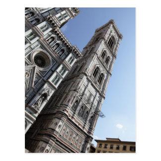Carte Postale Tour de Bell de Giotto et Santa Maria del Fiore