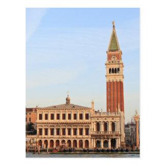Carte Postale Tour de Bell, Piazza San Marco, Venise