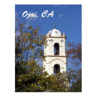 Carte Postale Tour de bureau de poste d'Ojai