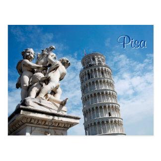 Carte Postale Tour de Pise