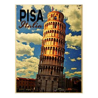 Carte Postale Tour de Pise ltaly