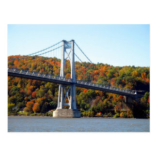 Carte Postale Tour de pont en automne