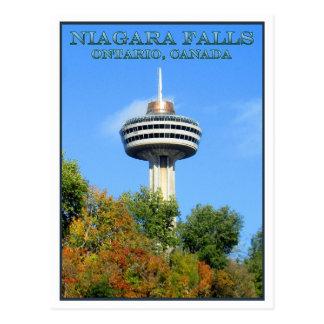 Carte Postale Tour de Skylon, chutes du Niagara, Ontario