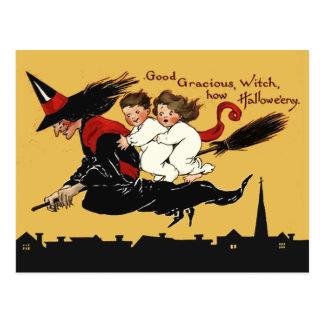 Carte Postale tour de sorcière