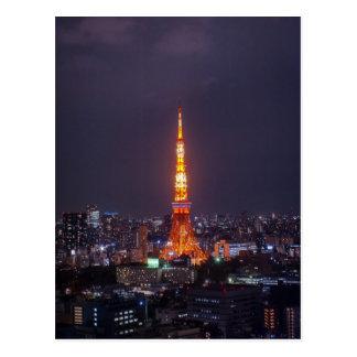 Carte Postale Tour de Tokyo