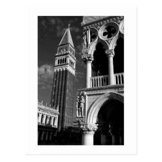 Carte Postale Tour de Venise San Marco et palais de doge