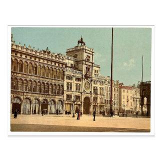 Carte Postale Tour d'horloge (dell'Orologio de torre), Piazzetta