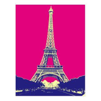 Carte Postale Tour Eiffel 2