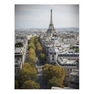 Carte Postale Tour Eiffel à Paris (visite Eiffel de La)