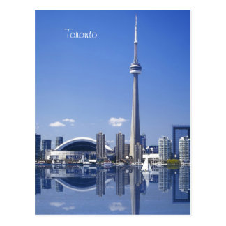 Carte Postale Tour et bâtiments de NC à Toronto, Ontario, Canada