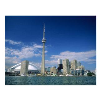 Carte Postale Tour et Skydome de NC à Toronto, Ontario,