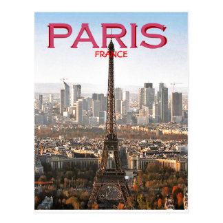 CARTE POSTALE TOUR PARIS, FRANCE (MOJISOLA A GBADAMOSI) D'EIFEL