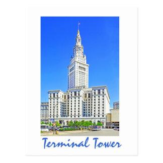 Carte Postale Tour terminale, Cleveland, Ohio, Etats-Unis