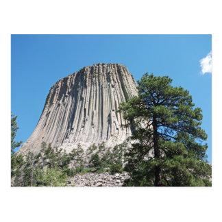 Carte Postale Tour Wyoming de diables
