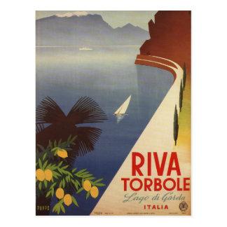 Carte Postale Tourisme vintage de Riva Torbole Italie de