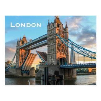 Carte Postale Tourisme vintage de voyage de Londres