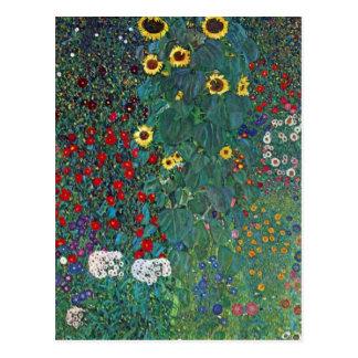 Carte Postale Tournesol de Farmergarden W par Klimt, fleurs