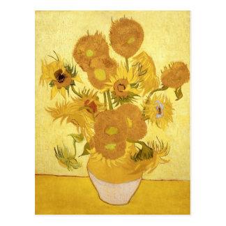 Carte Postale Tournesols par Van Gogh