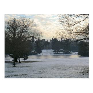 Carte Postale Tours d'Alton dans la neige