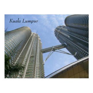 Carte Postale tours de Petronas