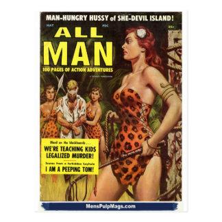 Carte Postale Tout l'homme, mai 1959