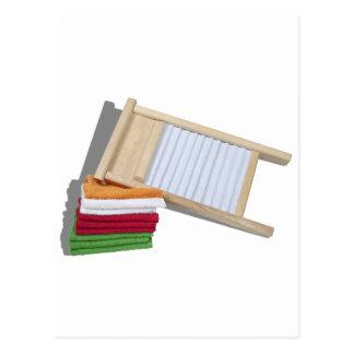 Carte Postale TowelsWashBoard112810