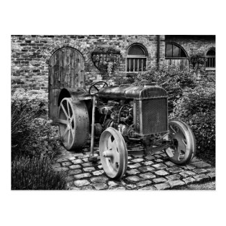 Carte Postale Tracteur vintage de Fordson, Bredbury Hall