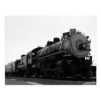 CARTE POSTALE TRAIN