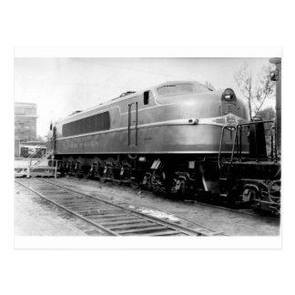 Carte Postale Train 1939 de l'Exposition universelle sur