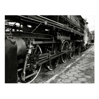 Carte Postale Train vintage de vapeur