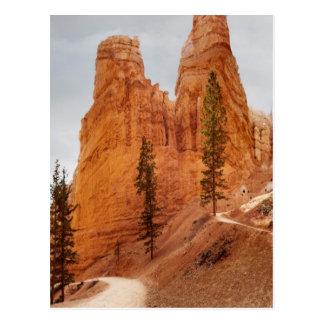 Carte Postale Traînée de boucle de Navajo, canyon de Bryce
