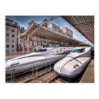 Carte Postale Trains de balle japonais à la station de Tokyo