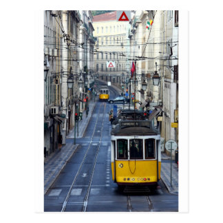 Carte Postale Tram 28, Lisbon, Portugal