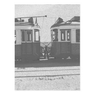 Carte Postale Trams de Lisbonne