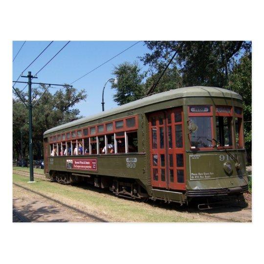 Carte Postale Tramway De La Nouvelle Orleans Louisiane Zazzle Fr