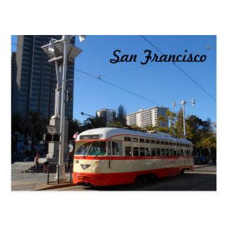 Carte Postale Tramway San Francisco