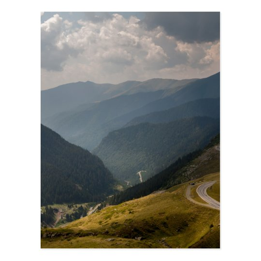 Carte Postale transfagarasan, Romania