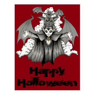 Carte Postale Transformation de vampire