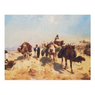 Carte Postale Traverser le désert