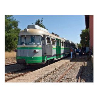 Carte Postale Trenino Verde, le peu train vert, Sardaigne