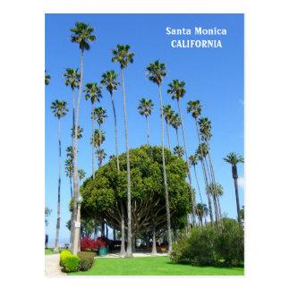 Carte postale très belle de Santa Monica !